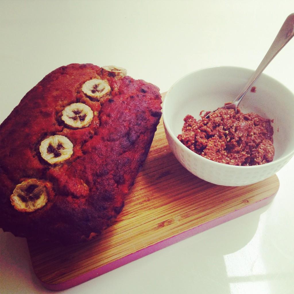 Rye Banana Bread & Homemade Nutella