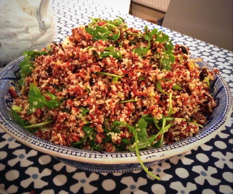 Ottolenghi Red Rice & Quinoa Salad - The Buckwheat Adventure